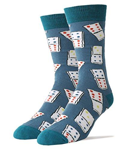Men's Novelty Domino Socks