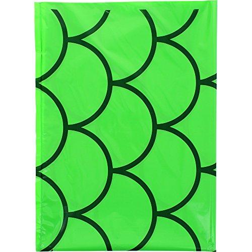 Fixo 72309 - Pack de 25 bolsas disfraz, 56 x 70 cm, color ondas verdes