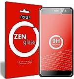 nandu I ZenGlass Protector de Vidrio Flexible Compatible con TP-Link Neffos X1 Lite I Protector de Pantalla 9H I (más pequeño Que la Pantalla Curva)