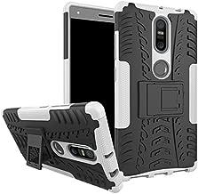SCIMIN Shockproof Case for Lenovo Phab 2 Plus,Hybrid Case for Lenovo Phab 2 Plus, Dual Layer Shockproof Hybrid Rugged Case Hard Shell Cover with Kickstand for 6.4'' Lenovo Phab 2 Plus