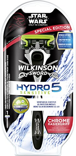 Wilkinson Sword Hydro 5 Sensitive Star Wars Special Edition Herren Rasierer, mit 1 Klinge, 1 St