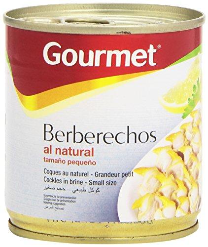 Gourmet - Berberechos al natural - tamaño pequeño - 90 g