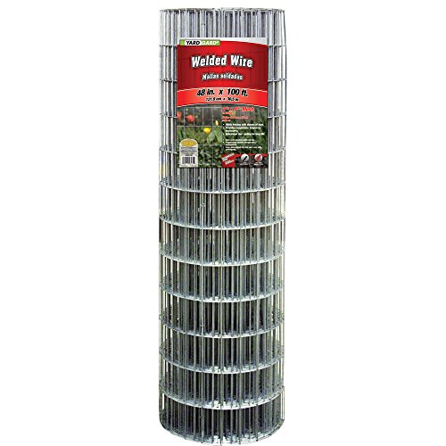 YARDGARD 308312B 48 Inch by 100 Foot Galvanized Welded Wire Fence