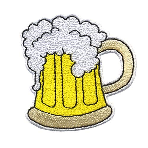 Freak Scene Patch - bicchiere di birra - toppa