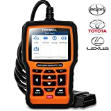 FOXWELL NT510 Elite Bi-Directional All Systems Scan Tool for Toyota Lexus Scion, HVAC 4WD Code Reader with Enhanced Active Test ABS Auto Bleed Battery Registeration TPS TPMS etc(Professional Level)