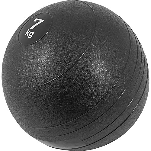 GORILLA SPORTS Slamball Gummi Medizinball Fitnessball Trainingsball No Bounce Farbe 7 KG