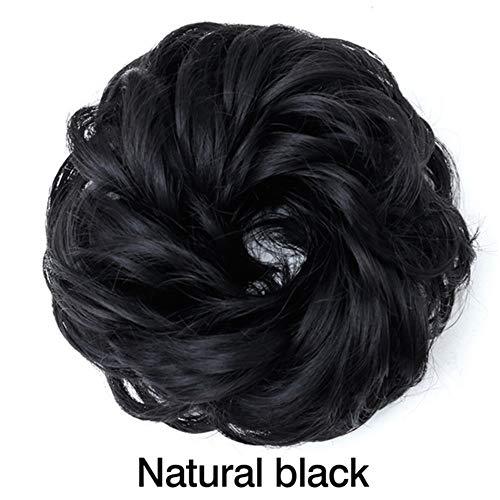 Perruque Hmj Cheveux Bouclés Naturel Faux Hairpieces Femmes Coiffures Synthétique Résistant À La Chaleur Synthétique Pièces De Cheveux Cheveux