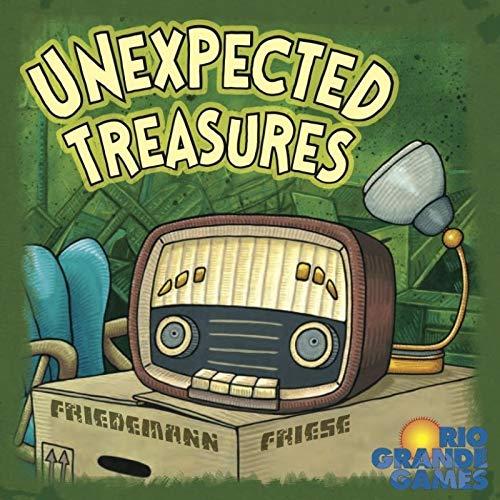 Unexpected Treasures - Juego de cartas (Rio Grande Games RGG484) (versión en...