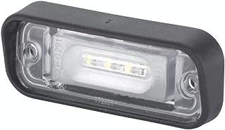 HELLA 2KA 010 278 411 Kennzeichenleuchte   LED   12V   Einbau   Stecker: Flachsteckhülse   oben