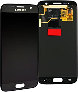 Original Samsung Galaxy S7 G930F LCD AMOLED Display Touchscreen Digitizer Schwarz Service Ersatzteil GH97 18523A