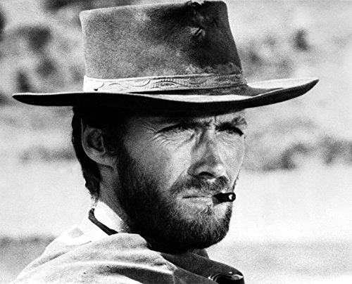 Clint Eastwood Fighting Stunts in Topless Portrait Photo Print (10 x 8)