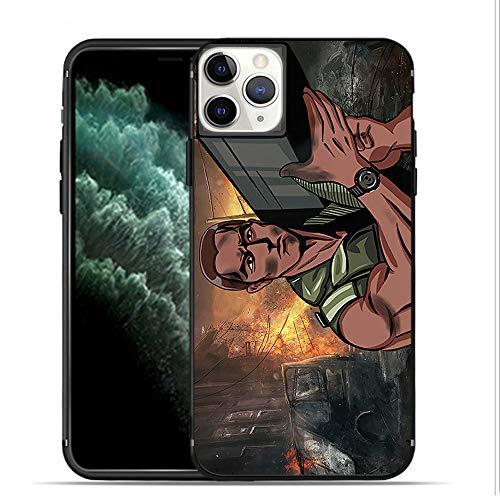 APHT Schwarzenegger Phone Case Funda para Apple iPhone 11 Pro MAX/Huawei P30 Protective Suave TPU Silicona Suave Smartphone Case Cover