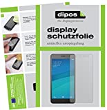dipos I 2X Schutzfolie matt kompatibel mit Hisense L695 Folie Bildschirmschutzfolie