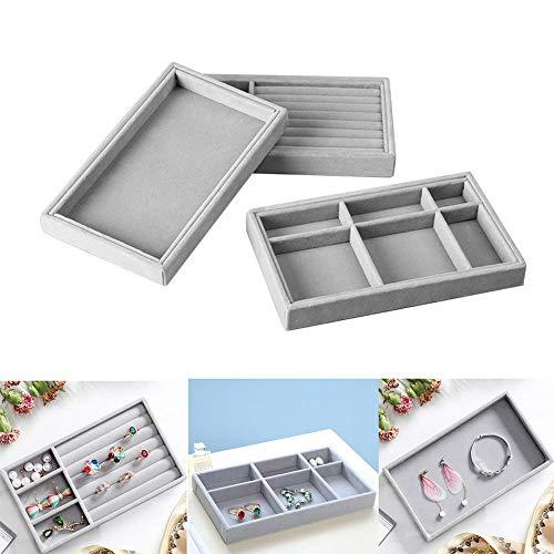 MZY1188 Caja de Almacenamiento de Joyas - Nuevo cajón Bandeja de Almacenamiento de Joyas de Bricolaje, Caja de exhibición de Joyas Caja de Regalo para Anillo Pulsera Pendiente Soporte Tamaño pequeño