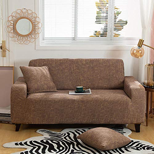 certainPL Couch Cover Stretch Arm Chair Large Sofa Slipcover Leather Furniture Protector from Pet for 3-Seat Sofa, (Sofa-3 Seater,Geometric)