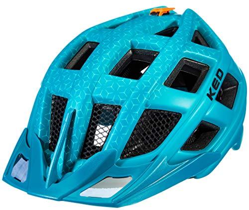 KED Crom Helm DarkGreen matt Kopfumfang XL | 60-64cm 2020 Fahrradhelm