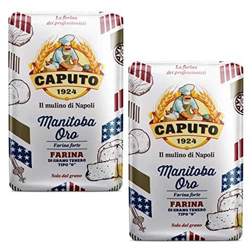 "Caputo 12x Manitoba Oro tipo 0 ""fuerte harina multiusos 1 kg tus necesidades de horneado!"