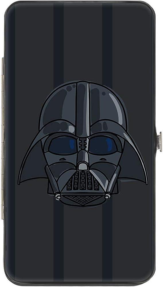 Buckle-Down Women's Standard Hinge Wallet-Star Wars Darth Vader, 7