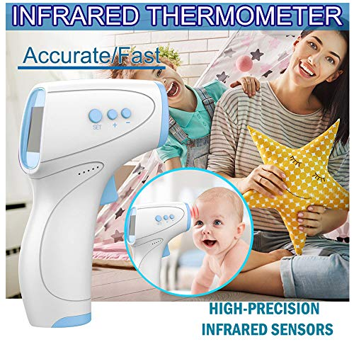 Find Bargain JHLIA Touchless Thermometer-Fast and Professional Accurate Forehead Thermometer Tempera...
