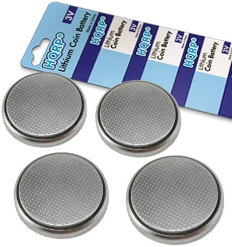 HQRP 4 Pack Lithium Coin Clearance SALE Limited time Battery Se BMW Series with Inventory cleanup selling sale Compatible 3