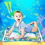 SerDa-Run Wassermatte Baby BPA-frei Aufblasbare Wassermatte Spielzeug Kinder Wasserspielmatte Geschenke für Baby Mädchen Jungen 3 6 9 Monate