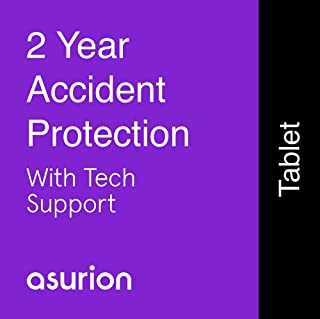 ASURION 2 Year Tablet Accident Protection Plan with Tech Support $80-89.99