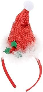 Claire's Girl's Santa Hat Headband - Red