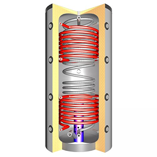 Schindler + Hofmann Speichertechnik J00064 Hygiene-Schichtenspeicher THSS 600 V2 2x Solarwärmetauscher/C