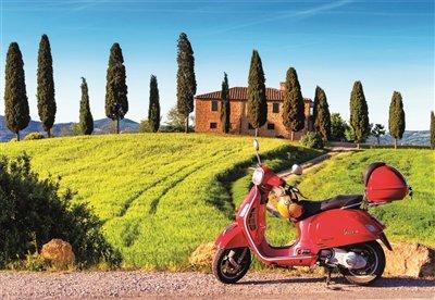 Educa Borrás - 1500 Moto en la Toscana, Puzzle (17121)