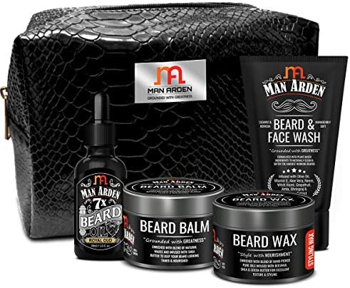Man Arden The Dapper Dude Combo Beard Oil Royal Oud 30ml Beard Balm 50g Beard Wax 50g Beard product image