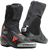 DAINESE 1795223 STIVALI AXIAL D1 AIR NERO ROSSO FLUO 628 TG.44