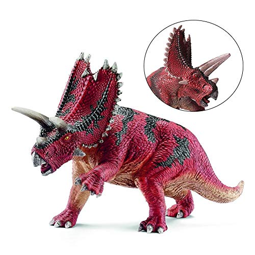 Tierspielzeug Dekoration, 7,5 zoll Dinosaurier Pentaceratops Feste PVC Action Figure Spielzeug Dinosaurier Modell