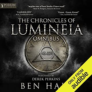 The Chronicles of Lumineia Omnibus: Books 1-3 audiobook cover art