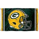 WinCraft Green Bay Packers New Helmet Grommet Pole Flag
