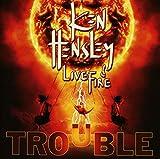 Ken & Live Fire Hensley: Trouble (Audio CD (Live))
