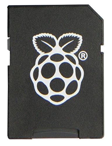 Raspberry MicroSD-kaart Transcend 16 GB Noobs + adapter/retail