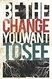 HSE Be The Change Sie sehen wollen, Poster Inspirierende