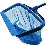Huante - Red de espuma, herramienta de limpieza para raqueta de hojas resistente, bolsa de malla fina