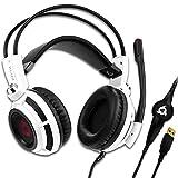 KLIM Puma Cuffie Gaming - Micro Headset da Gaming - Suono Surround 7.1 - Altissima Qualità Audio - Vibrazioni Integrate - Cuffie...