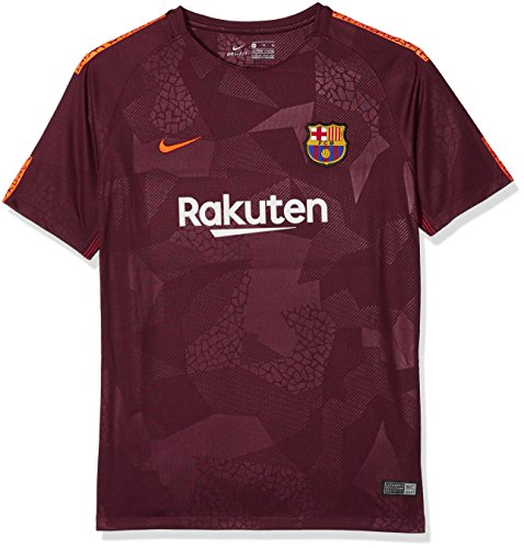 Nike Kinder T-Shirt Fc Barcelona 3 Jr 17-18 XL Bordeaux orange