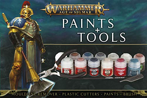Games Workshop Warhammer Age of Sigmar - Paint + Tools