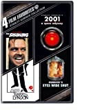 4 Film Favorites: Stanley Kubrick (The Shining: Special Edition, 2001: A Space Odyssey: Special Edition, Barry Lyndon, Eyes Wide Shut: Special Edition)
