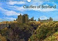 Castles of Scotland (Wall Calendar 2021 DIN A4 Landscape): Twelve beautiful painting of Scottish Castles by artist Graeme Heddle (Monthly calendar, 14 pages )