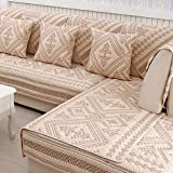Cojín de columpio al aire libre de algodón acolchado antideslizante, decorativo grueso sofá cubierta de protección Cushion-b 70 x 70 cm