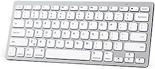 XINKSD Bluetooth Ultra-Slim Keyboard for iPad Air 2 / Air, iPad Pro, iPad mini 4 / 3 / 2 / 1, iPad 4 / 3 / 2 , New iPad 9.7