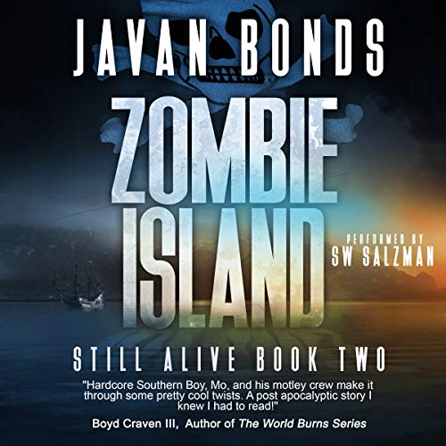 Zombie Island audiobook cover art