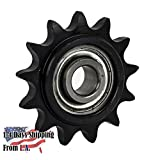 Jeremywell 50BB13H-5/8' Bore 13 Tooth Idler Sprocket for 50 Roller Chain