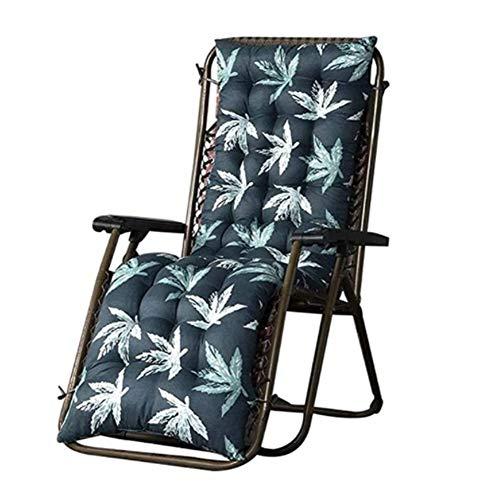 Fordecore Lounger Cushion Patio Chaise Lounge Cushion - 67×19Inch Thickened Lounge Chair Cushion Recliner Cushions Rocking Chair Cushion Sofa Cushion Tatami Mat Window Mat Seat Cushion