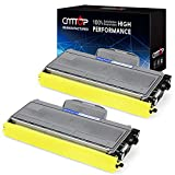 CMTOP TN360 Toner Replacement for Brother TN-360 TN-330 TN330 Black Toner Cartridge, High Yield, for Brother HL-2140 HL-2170W MFC-7340 MFC-7440N MFC-7345N MFC-7840W DCP-7030 DCP-7040 Printer, 2 Pack