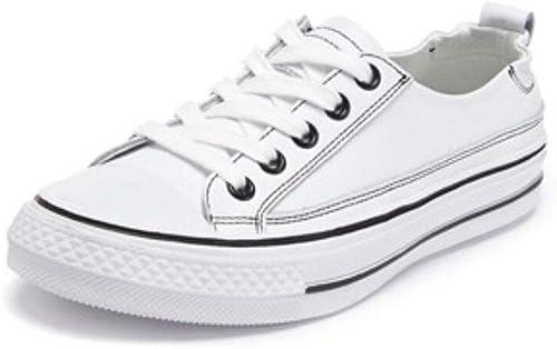 Joker Transpirables zapatos blancos Casuales, Ligeros, Simples, zapatos Deportivos, zapatos Bajos cómodos, zapatos de mujer adecuados para IR de Compras